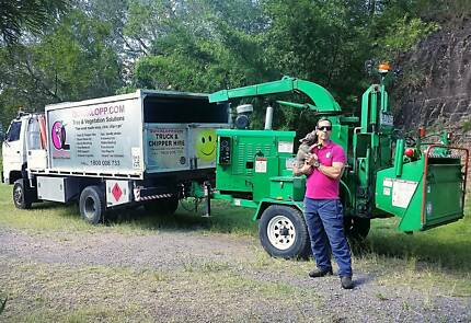 Truck and Chipper Tree Business for sale discount for 5 Bitcoin