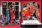 Derrick Rose Basketball Trading Cards Lot