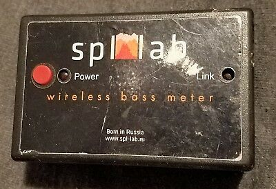 Spl-lab Wi-fi Wireless Bass Meter Spl Russian Meter Only No Software Version V 1