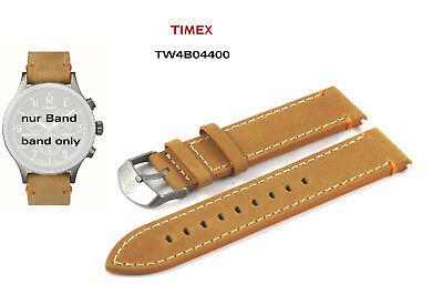 Timex Ersatzarmband TW4B04400 Expedition Scout Ersatzband - 20mm multifit Leder