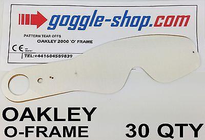 30 Mengen goggle-shop Zum Abreißen Passend für oakley O-Frame Motocross Brille