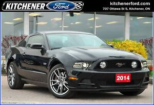 2014 Ford Mustang GT ONLY 2300 KM'S!/MANUAL/LEATHER/GT V8/19i...