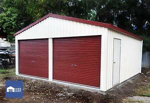6m x 6m x 2.4 h shed DISCOUNTED $5000 Beaudesert Ipswich South Preview
