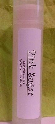 Lot of 5 PINK SUGAR (aquolina type) solid perfume stick~smells like cotton - Types Of Pink