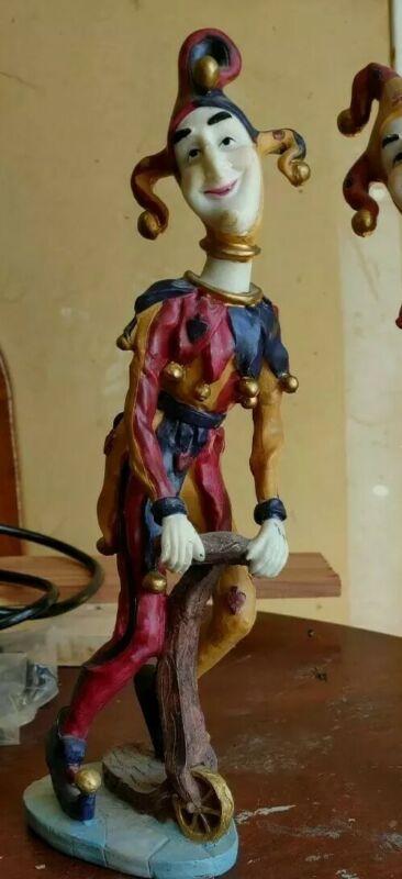 Large Clown Jester Figurine