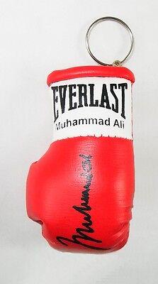 Autographed Mini Boxing Glove keyring Muhammad Ali