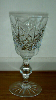 VINTAGE EDINBURGH CRYSTAL HIGHLAND  WINE GLASS  Signed (Old script) Highland Wine Crystal