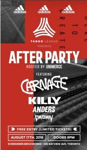 Adidas after party ft CARNAGE KILLY CMDWN AND ANDERS