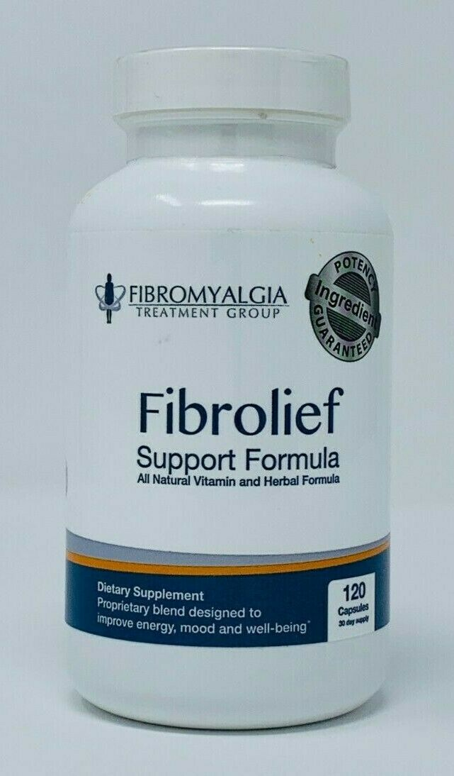 Fibrolief: Fibromyalgia Support Formula - Vitamin and Herbal Formula - 120 Count