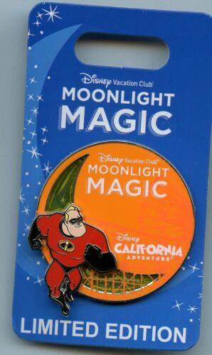 DVC Disney California Adventure Moonlight Magic Incredibles Mr. Incredible Pin