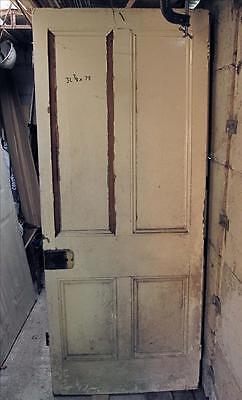 Victorian Door Original Reclaimed 4 Panel 32.4″ x 78″ ref:099