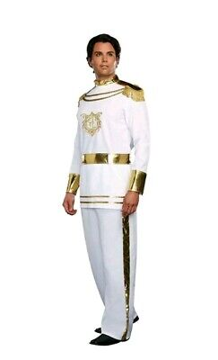 Fairytale Prince Costume Men size XLarge New by Dreamgirl 9474 Prince Charming