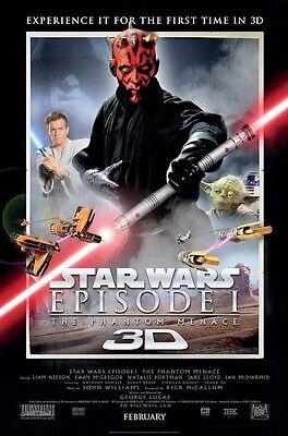 "Star Wars Phantom Menace ( 11"" x 17"" )Movie Collector's Poster Print (T6)- B2G1F"