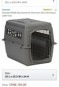 Petmate 0300 Sky Kennel for pets from 30-50 pounds