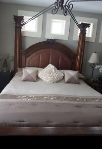 King Bed and Armoire