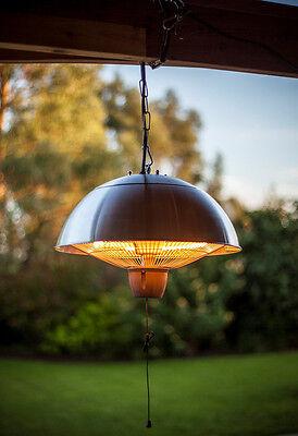 Steel Patio Heater Hanging Patio Heater Heat Lamp Outdoor Garden Heater 1500W