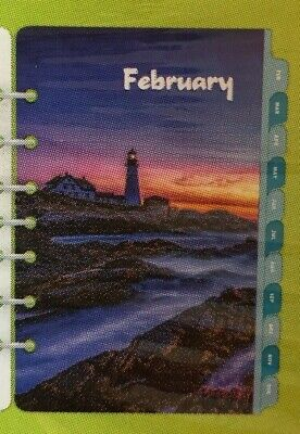 Sealed Day-timer 2020 Coastlines Planner Refill 2 Pagesday D Size 4 Lighthouse