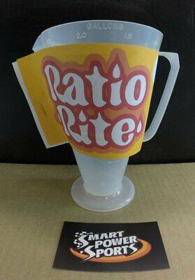 Ratio Rite Measuring Cup 2-Stroke Premix Mixing Cup Gas - Oil