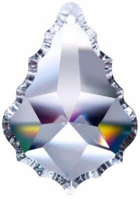 5 Klare Französischer Kronleuchter Kristalle Prism 63mm Anhänger Asfour - Französische Anhänger Beleuchtung