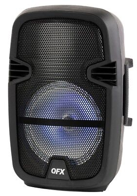 Portable Party Bluetooth Loudspeaker Party Music Speaker Microphone Remote 8