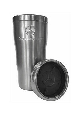 Mercedes Benz Embossed Double Wall Stainless Steel Tumbler