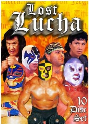 LOST LUCHA 10 DISC DVD set wrestling Rey Mysterio Mascaras Tiger Mask Guerrero