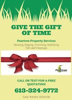 Give the Gift of Time Allow Us to Maintain Your Lawn This Year
