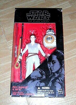 Rey Jakku BB-8 Variant NEW Star Wars The Black Series Action Figure Hasbro Luke