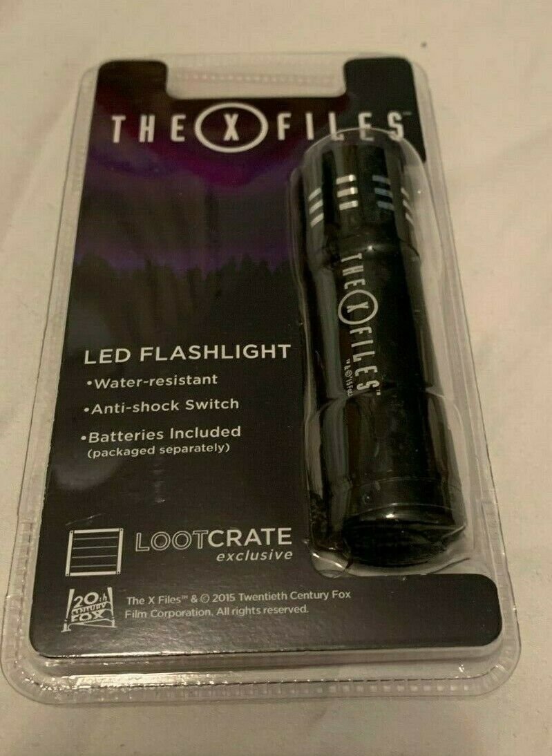 The X Files LED Flashlight Loot Crate Exclusive