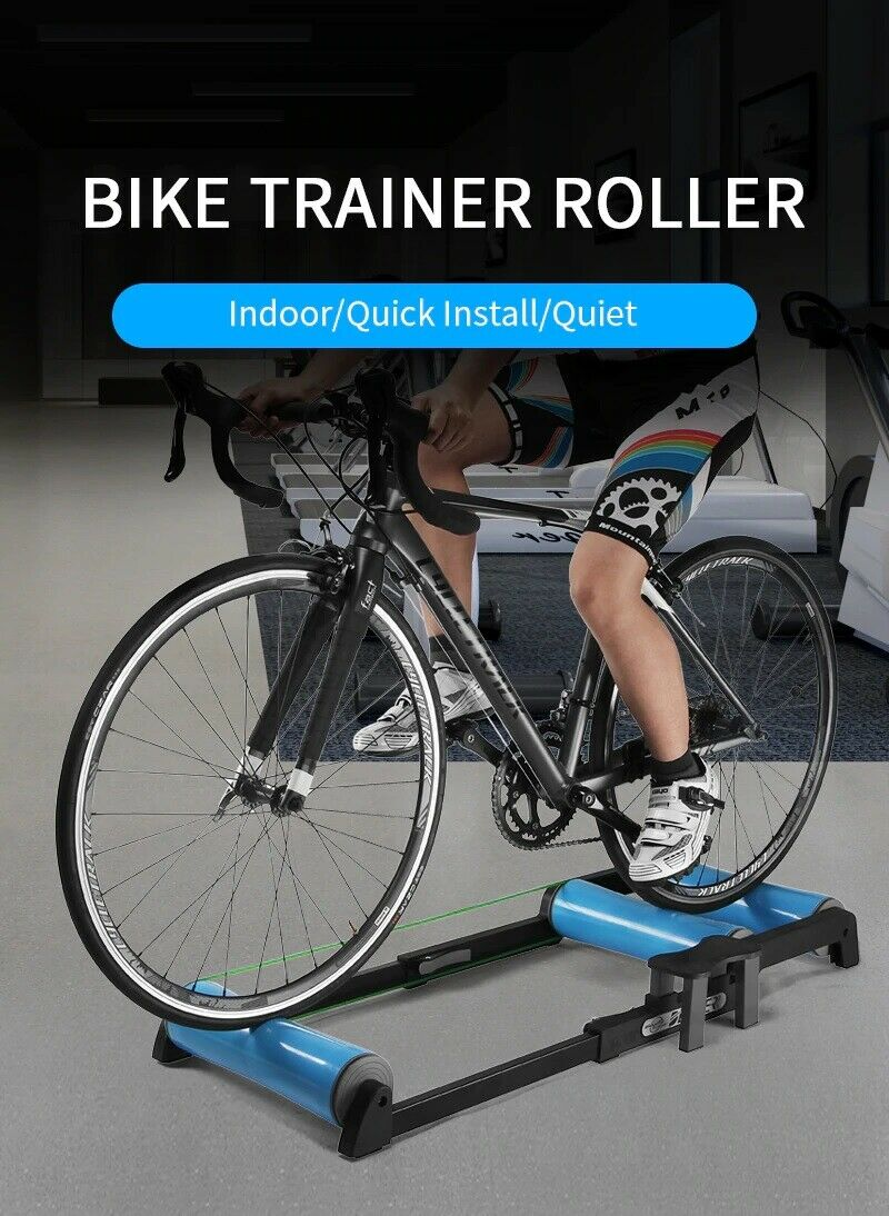 Bike Roller Trainer Indoor Portable apply for 24 - 29 wheels