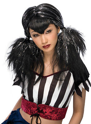 Dark Angel Wig Punk Goth Anime Rave Vampire Dress Up Halloween Costume Accessory ()