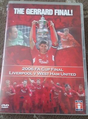 LIVERPOOL VS WEST HAM 2006 FA CUP FINAL DVD THE GERRARD FINAL FOOTBALL (Liverpool Vs West Ham Fa Cup Final)