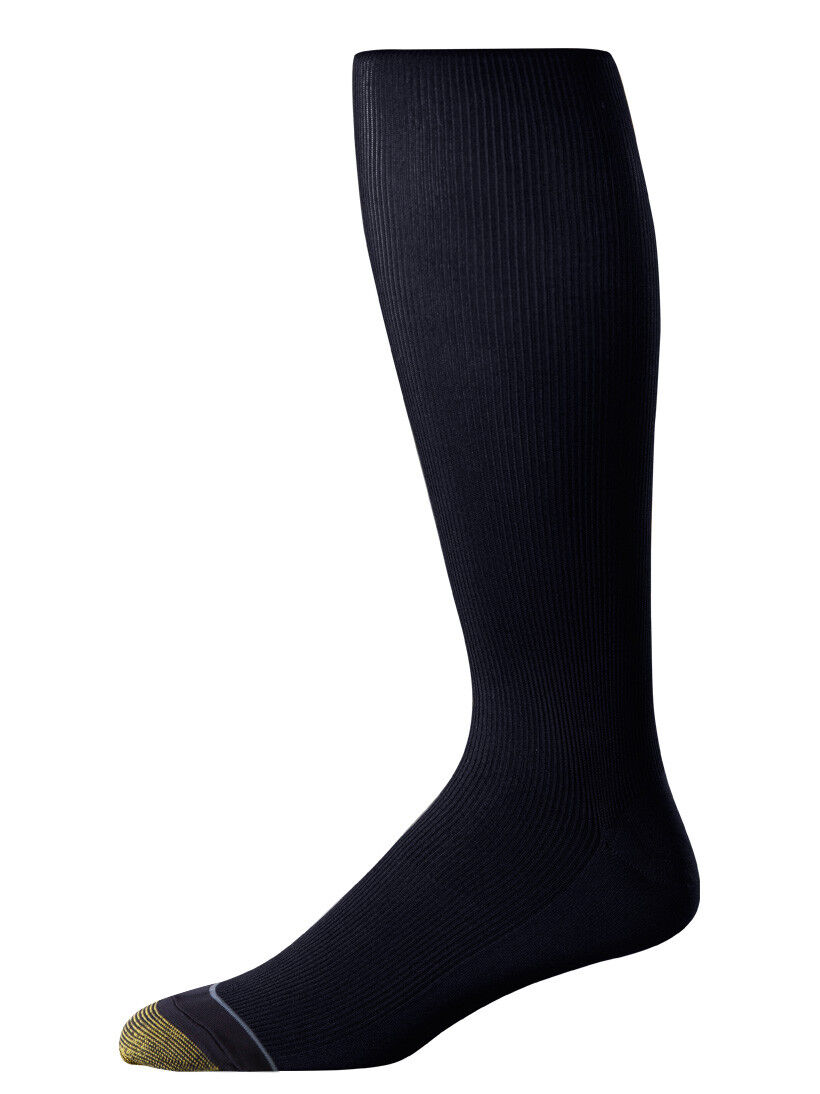 Gold Toe Men's Metropolitan Premium Over The Calf Dress Sock