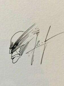 SAM KIETH Original Art WOLVERINE Sketch CGC SS signed maxx keith 1 batman comic