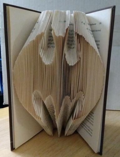 Batman Handcrafted Folded Book Art 3D Sculptured Hardcover