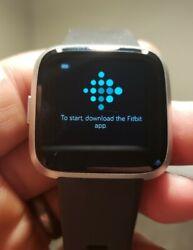 Fitbit Versa Lite Smart Watch silver gray grey