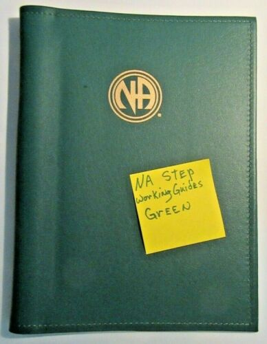 Narcotics Anonymous NA Step Working Guide COVER  GREEN