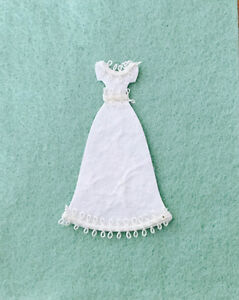 5 X  WEDDING DRESS, WEDDING CARD/INVITATION  TOPPERS/EMBELLISHMENTS.