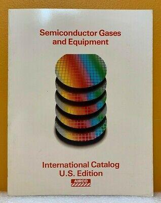 Airco Semiconductor Gases Equipment International Catalog U.s. Edition.