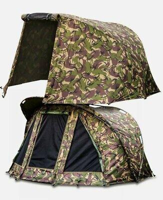 Saber Camo Carp Fishing Capsule Bivvy Day Tent +Ground Sheet + winter skin