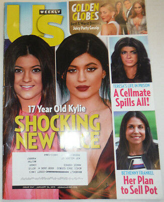 Us Weekly Magazine Kylie Jenner   Bethenny Frankel January 2015 031315R