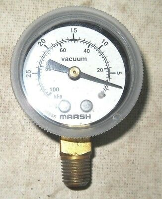 T3-5 Marsh 16656 Vacuum Boiler Gauge
