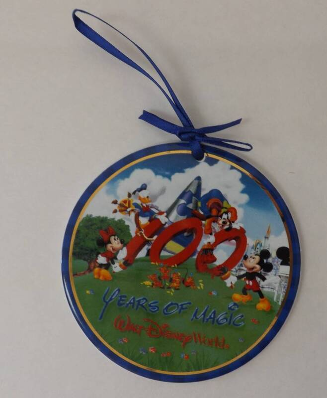 Walt Disney World 100 Years of Magic Character Ornament
