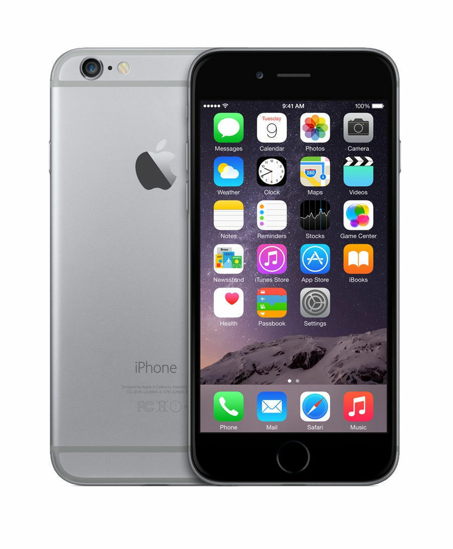 Apple iPhone 6 - 16GB - Space Gray (AT&T) A1549 (GSM)
