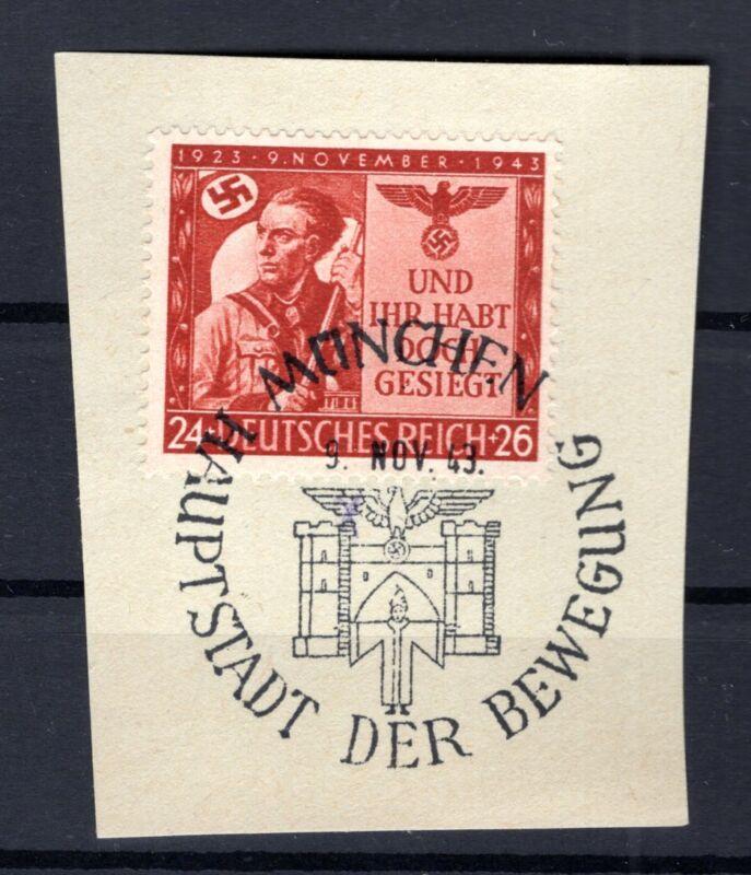 DR-3.Reich 863 mit SONDERSTEMPEL München gest. Luxusbriefstück (76980