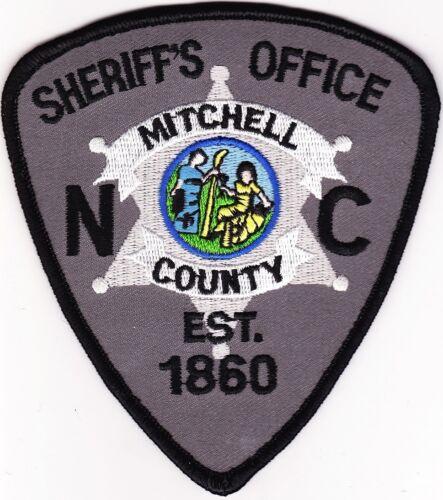 Mitchell County Sheriffs Office North Carolina Police Patch