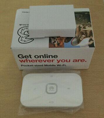Huawei E5573bs-322 4G Mobile Wi-Fi, Three Mobile Hotspot