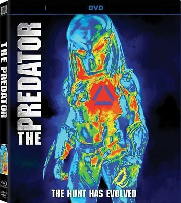 THE PREDATOR NEW DVD (PRE-ORDER SHIPS ON 12/18/2018)