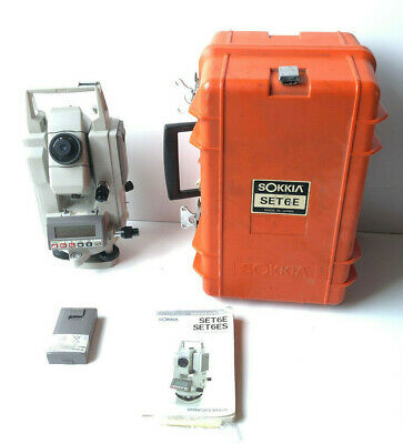 Sokkia Set6e Surveying Electronic Construction Total Station 1600