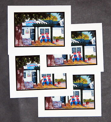 Halloween at The General Store - Note Cards - Halloween At Universal